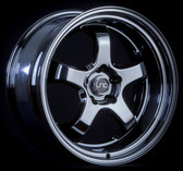 JNC017 Full Black Chrome 19x9.5 5x114.3 +22