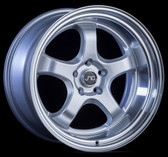 JNC017 Silver Machined Lip 19x10.5 5x114.3 +25