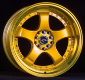 JNC017 Transparent Gold 17x9 5x100/5x114.3 +20