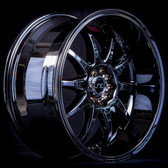 JNC019 Black Chrome 18x8 5x100/5x114.3 +27