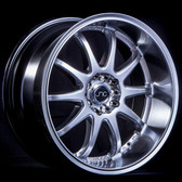 JNC019 Silver Machine Lip 18x8 5x100/5x114.3 +27