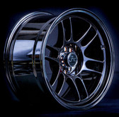 JNC021 Black Chrome 17x9.5 5x100/5x114.3 +15