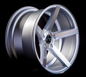 JNC026 Silver Machined Face 20x8.5 5x120 +40
