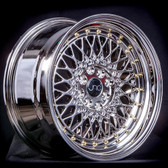 JNC031 Platinum Gold Rivets 18x9.5 5x100/5x114.3 +35