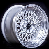JNC031 Silver Machined Face 15x8 4x100/4x114.3 +20