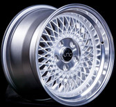 JNC031 Silver Machined Lip 15x8 4x100 +25