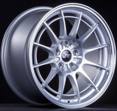 JNC033 Silver Machined Face 18x8.5 Blank +35