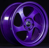 JNC034 Candy Purple 16x8 4x100 +25