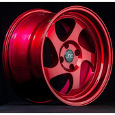 JNC034 Candy Red 15x8.25 4x100 +20