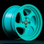 JNC034 Matte Tiffany Blue 16x8 4x100 +25