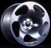 JNC036 Silver Machined Face 18x9.5 5x100 +38