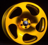 JNC036 Transparent Gold 18x8.5 5x112 +35