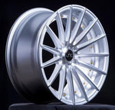 JNC042 Silver Machined Face Gold Rivets 18x9.5 5x114.3 +35