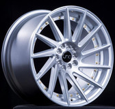 JNC051 Silver Brushed /Gold Rivets 18x9.5 5x100/5x114.3 +35