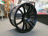 Gram Lights 57XTREME 19X9.5 +25 5-114.3 SEMI GLOSS BLACK