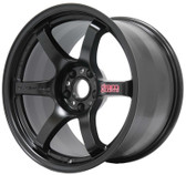Gram Lights 57DR 15X8.0 +28 4-100 SEMI GLOSS BLACK