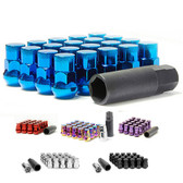 INCLUDES 20 PCS LUG NUTS, 1PC 17mm HEX WRENCH ADAPTER