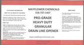 GRANULAR CRYSTAL POWDER DRAIN LINE OPENER CLEANER