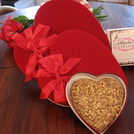 English Toffee Heart from Littlejohns Candies