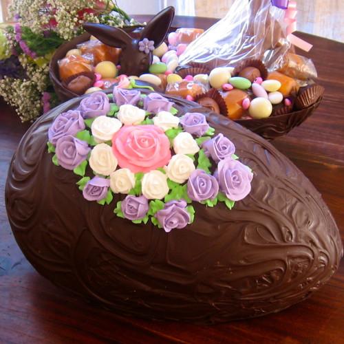 Chocolate Shell Egg