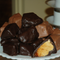 Handmade Honeycomb candy, covered in Milk Chocolate and Dark Chocolate