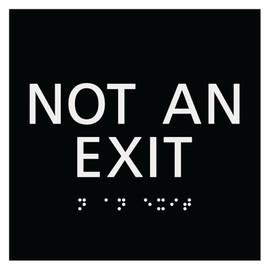 """Not An Exit - 5¾"""" x 5¾"""""""