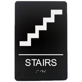 "Stairs - 8¾"" x 5¾"""