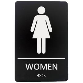 """Women's Restroom - 8¾"""" x 5¾"""""""