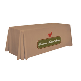 Imprinted Standard Table Throw