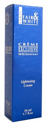 Fair & White Exclusive Whitenizer - Lightening Cream 1.7 oz / 50 ml