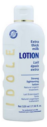 Idole Natural Organic Extra Thick Milk Lotion 17.6 oz