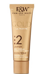 Fair & White Gold #2 Even Tone Specialized Cream Gel 30 ml/1 oz