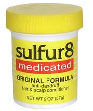 Sulfur 8 Medicated Original Formula 4 oz