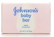 Johnson's Baby Bar 3 oz - PACK OF 6