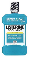 Listerine Cool Mint Antiseptic Mouthwash 1.5 Lt