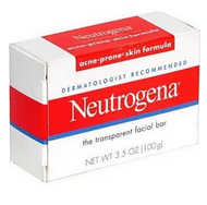 Neutrogena Transparent Facial Bars, Acne-Prone Skin Formula