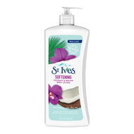 St. Ives Soft and Silky Coconut and Orchid Body Lotion 21 oz