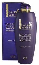 Fair & White Exclusive Whitenizer Body Lotion 17 oz