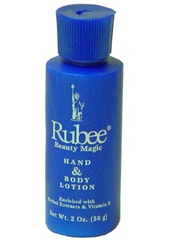 Rubee hand & body lotion 2 oz
