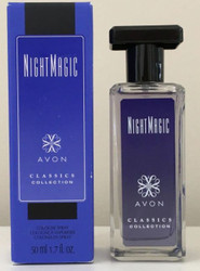Avon Night Magic  Evening Musk Cologne Spray 1.7 oz