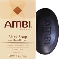 Ambi Black Soap with Shea Butter 3.5 oz
