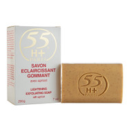 55H+ Paris Lightening Exfoliating Soap with Apricot 7 oz