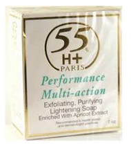 55H+ Paris Performance Multi-Action Lightening Soap 7 oz