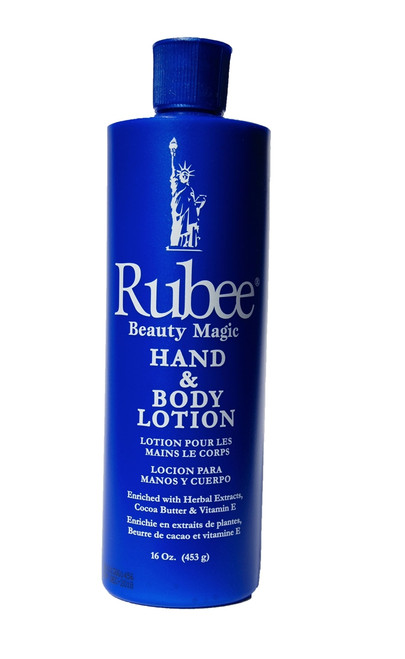 Rubee Hand & Body Lotion 16 oz