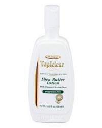 TOPICLEAR gold shea butter fragrance Free Lotion