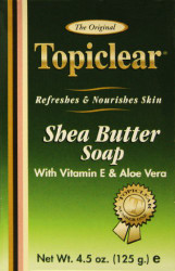 TOPICLEAR gold shea butter soap 4.5OZ