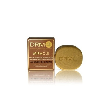 DRM4 MIRACLE Cocoa Butter Lightening Scrubbing Soap 200g / 7oz