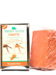 Nature Secrete Lightening Moisturizing Soap with Carrot Oil