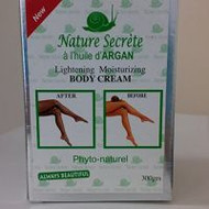 Nature Secrète Lightening Moisturizing Body Cream 300gr