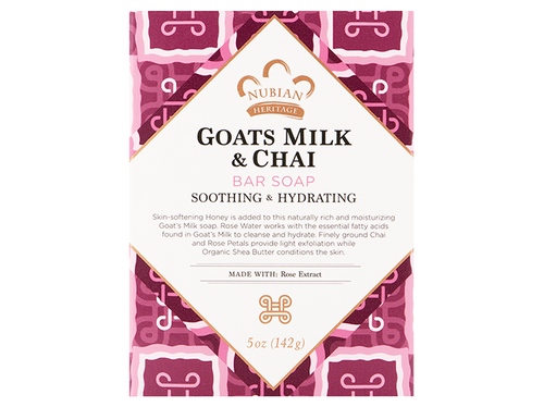 Nubian Heritage Goats Milk & Chai Bar Soap 5oz